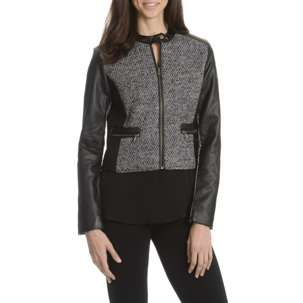 Ashley Women's Basketweave Inset Jacket