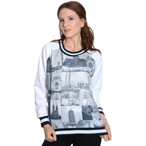Scuba Women's Printed Sweatshirt (As Is Item)