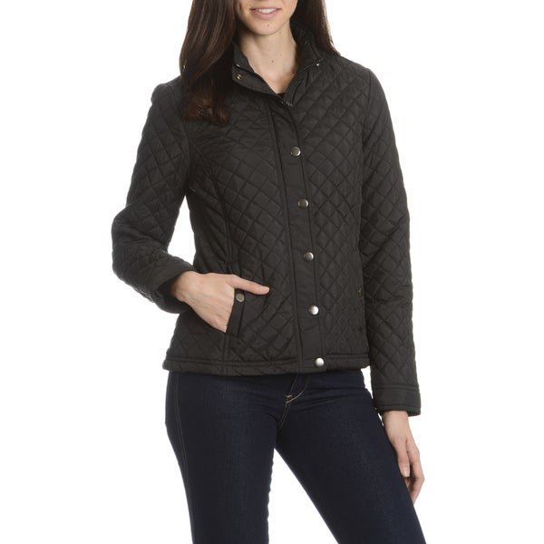 Miss Ashley Women's Double Snap Vent Jacket