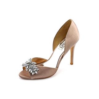 Badgley Mischka Women's 'Nikki' Satin Sandals