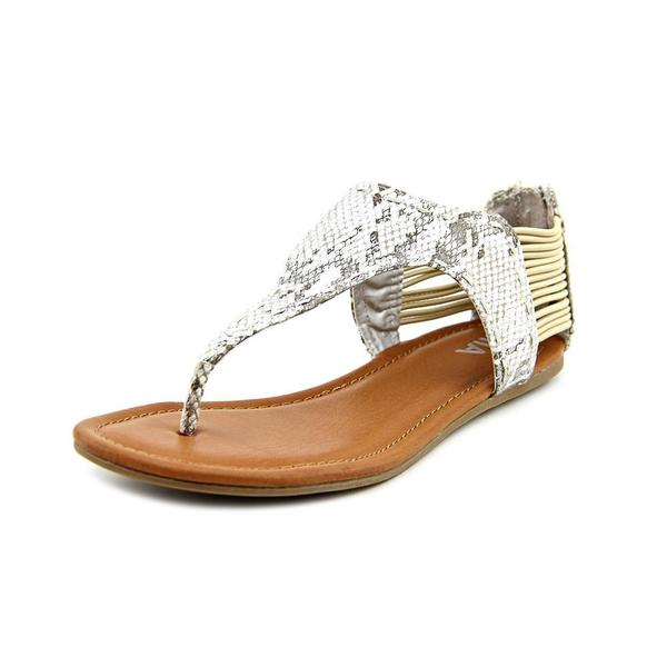 Mia Women's 'Cast Away' Faux Leather Sandals