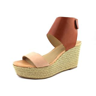 Lucky Brand Women's 'Olla' Leather Wedges Sandals
