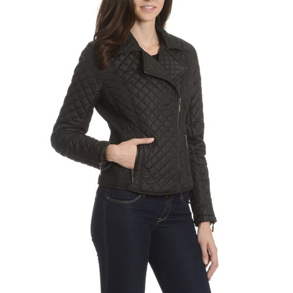 Ashley Premium Women's Quilted Motorcycle Jacket