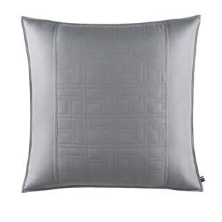 Tommy Hilfiger Academy Grey Cotton Percale Euro Sham