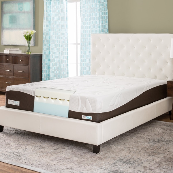 ComforPedic from BeautyRest 12-inch King-size Memory Foam Mattress