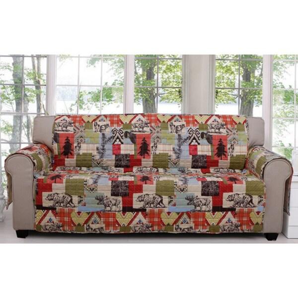 Rustic Lodge Sofa Protector