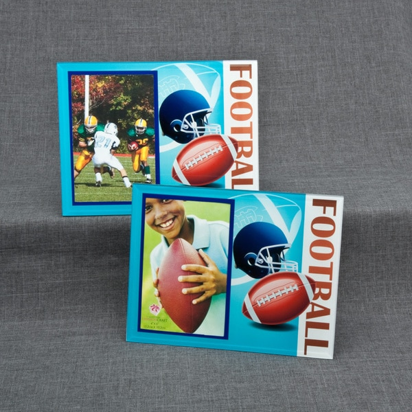 Glass Football Frame
