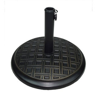 Cast Concrete 40 lb Umbrella Base