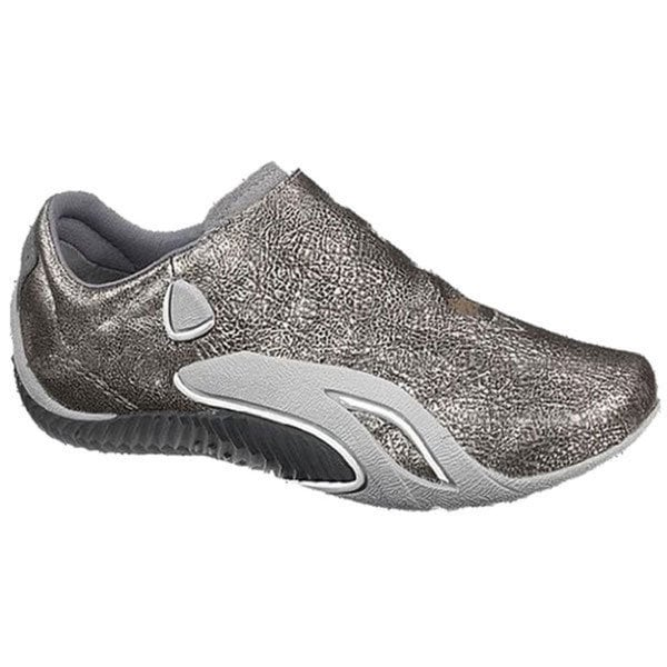 New Cushe Women's Groove Stream Silver/ Grey Slip-on US 9