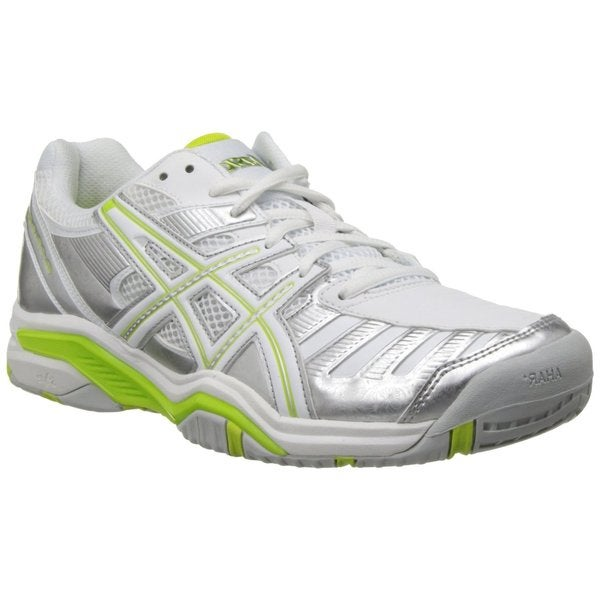 Asics Women's Gel-Challenger 9 Silver/Neon Lime/White Running Shoes US 9