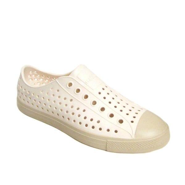 Native Women's Jefferson Slip-On Ovaltine White Sneaker (Size 6)