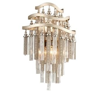 Corbett Lighting Chimera 2-light Silver Wall Sconce
