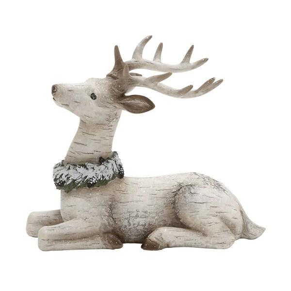 Benzara 13-inch Reindeer Figurine