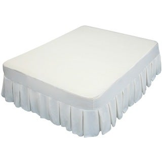Altimair Queen Size Fabric Cover with Bedskirt