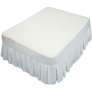 Altimair Full Size Fabric Cover with Bedskirt