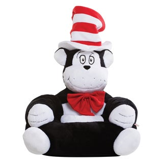 Trend Lab Dr. Seuss The Cat in the Hat Children's Plush Character Chair