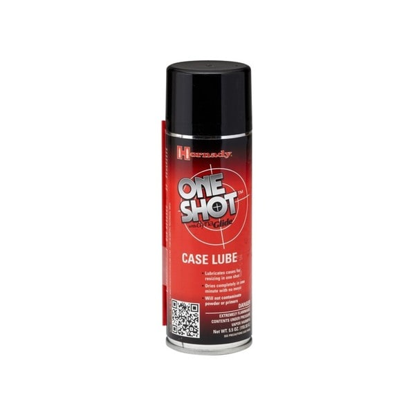 Hornady One Shot 5.0-ounce Spray Case Lube