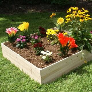 Riverstone Industries Eden Quick Assembly 17.5-inch Raised Garden Bed (4x4)