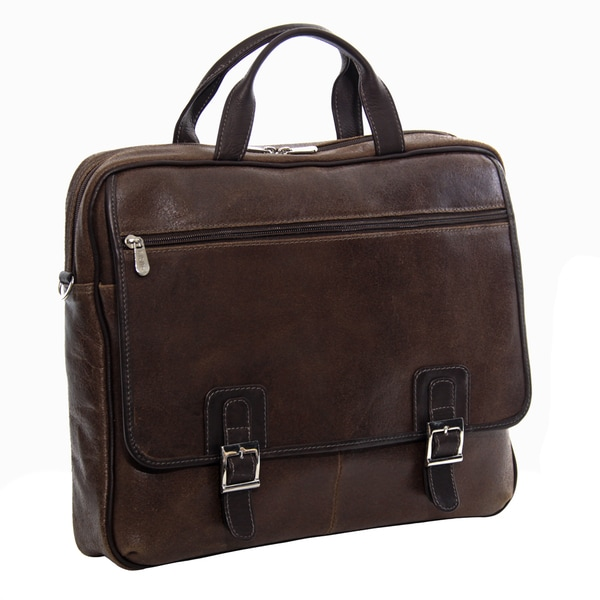 Piel Leather Vintage Business Briefcase
