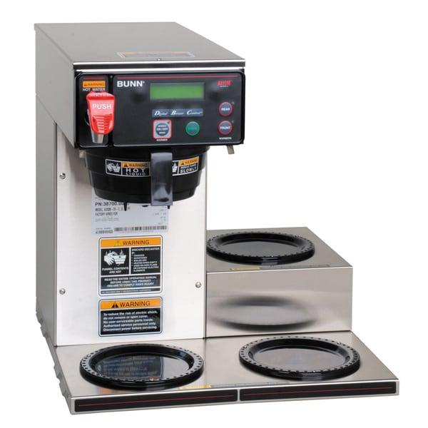 BUNN 38700.0009 AXIOM-DV-3 12 cup automatic coffee brewer 16863605