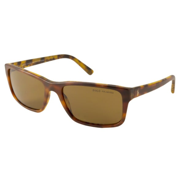 Polo Ralph Lauren PH4076 Men's Polarized/ Rectangular Sunglasses