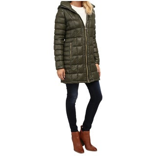 Michael Michael Kors Green Tea Down Packable Coat