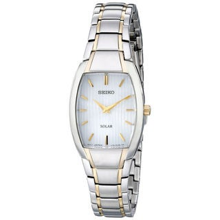 Seiko Women's 'Core' Analog Display Analog Quartz Two Tone Watch