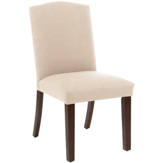Skyline Furniture Arched Dining Chair in Klein Ivory