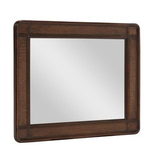 Oh! Home Passages Cane Mirror