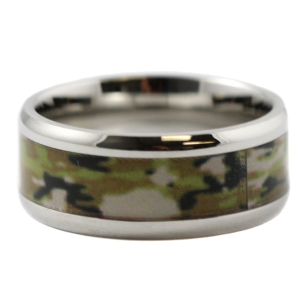 Military Camouflage Ring