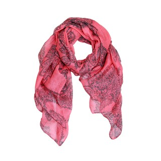 Saachi Women's Paisley Leaves Print Scarf (China)