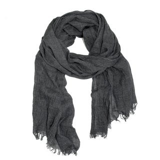 Saachi Unisex Frayed Solid Scarf (China)