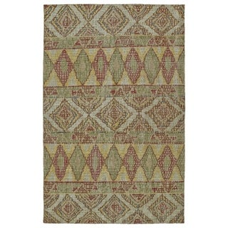 Hand-Knotted Vintage Multi Boho Rug (9'0 x 12'0)