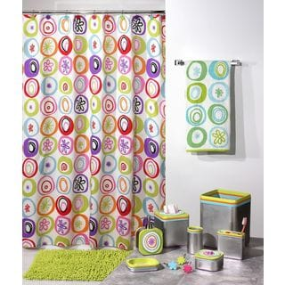 'All That Jazz' Shower Curtain & Hook Set - Multiple Options Available