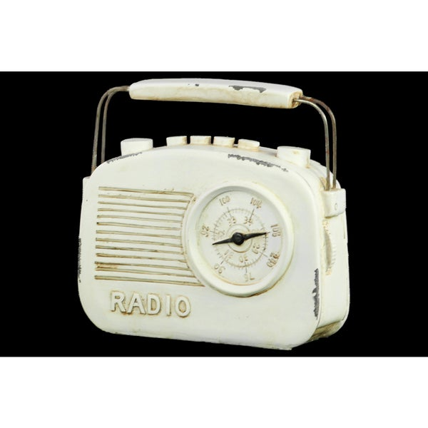 Resin Radio White