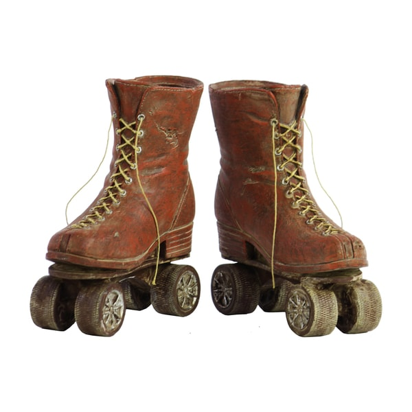 Resin Roller Skates Set Of 2