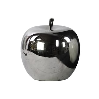 Ceramic Apple Silver