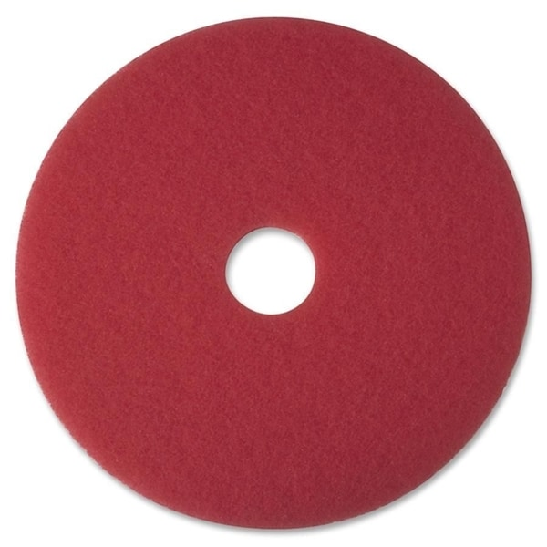 3M Red Buffer Pad 5100 - 5/CT