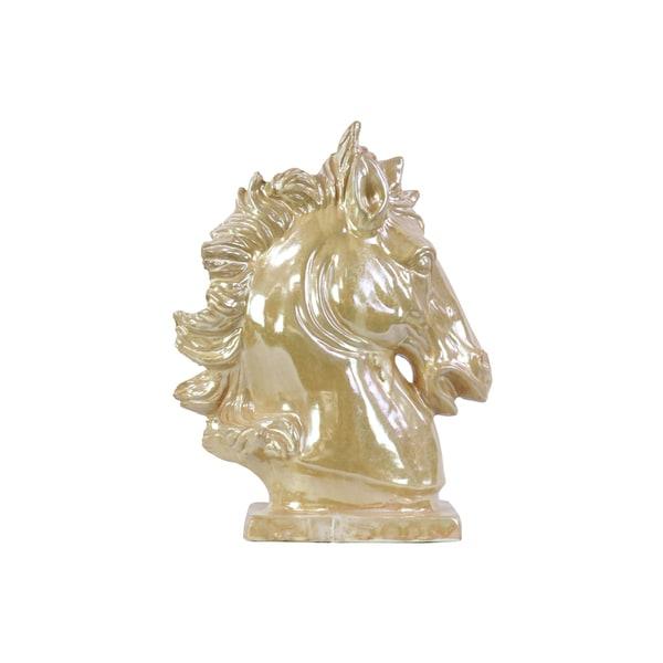 Ceramic Horse Head Pearl