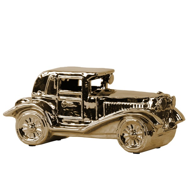 Ceramic classic Car Gold
