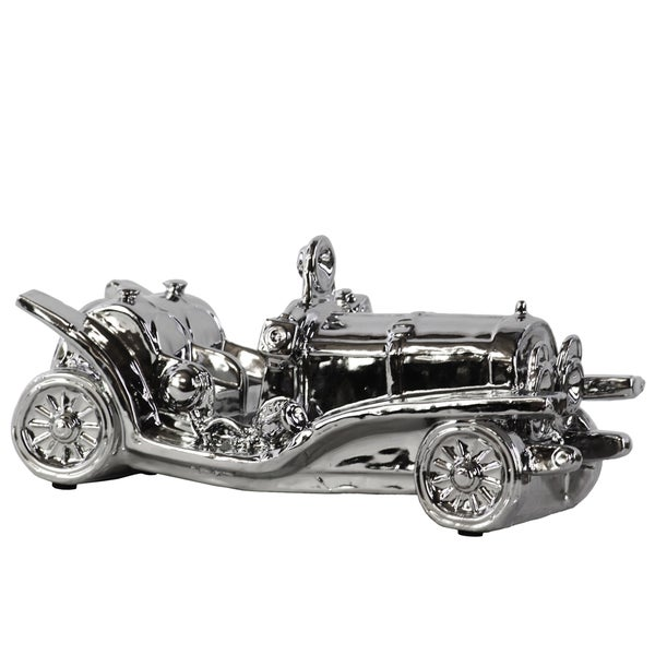 Ceramic Classic Car Silver
