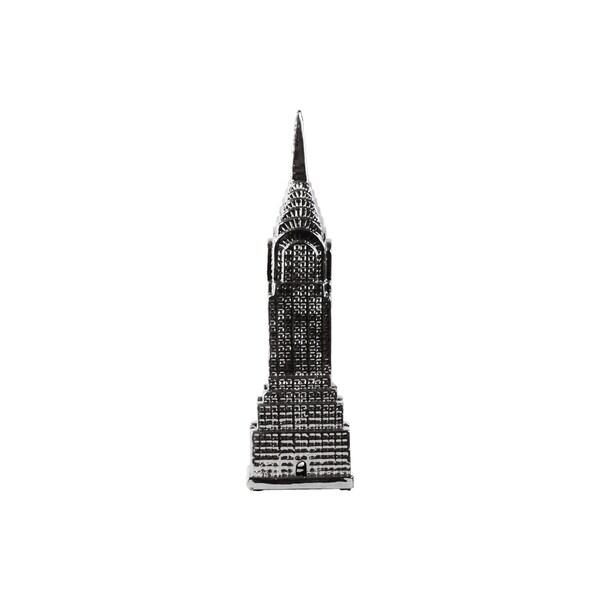 Ceramic Chrysler Tower Silver