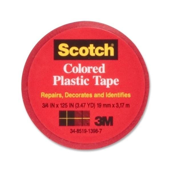 Scotch Colored Plastic Tape - 1/RL