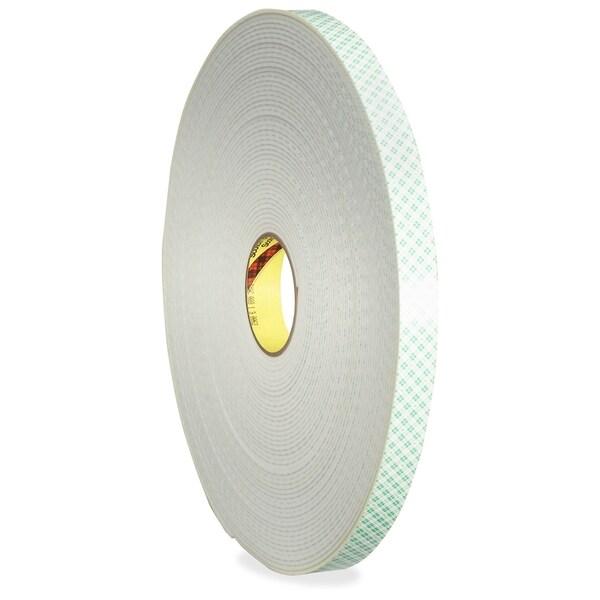 3M 4008 Double Coated Foam Tape Rolls - 1/RL