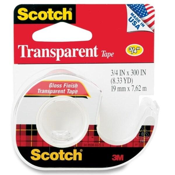 Scotch Gloss Finish Transparent Tape - 1/RL
