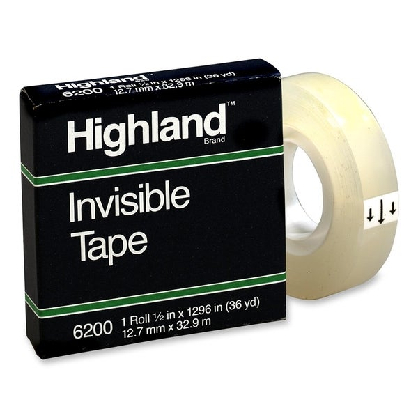 Highland Invisible Tape - 1/RL