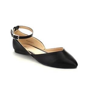 Mixx Shuz Women's 'Michelle-01' Slip On D'orsay Flats