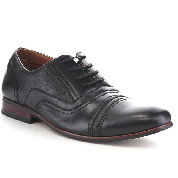 Ferro Aldo Men's Cap Toe Lace Up Shoes