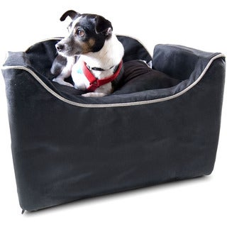 Snoozer Lookout I Luxury Micro Suede Pet Car Seat