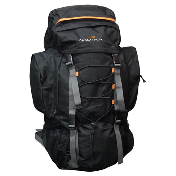 Nautika Intruder Black 60L Backpack